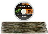 FOX жесткий поводковый материал в оплетке Camotex Stiff EDGES 20м