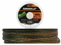 FOX камуфляжный плетеный лидер Armadillo EDGES 20м