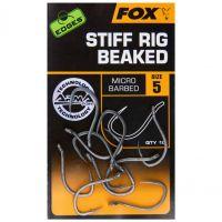 FOX крючки с загнутым жалом EDGES Stiff Rig Beaked