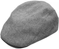 FOX плоская серая кепка Flat Cap CHUNK