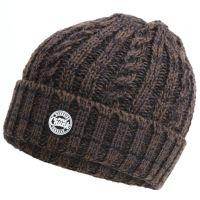 FOX камуфляжная шапка бини плотной вязки CHUNK