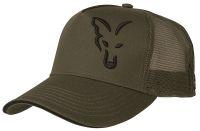 FOX летняя кепка с сеточкой Green & Black Trucker Cap
