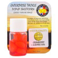 Силиконовая кукуруза Nutrabaits - Cranberry + n-Butyric Acid Corn Fluoro Red