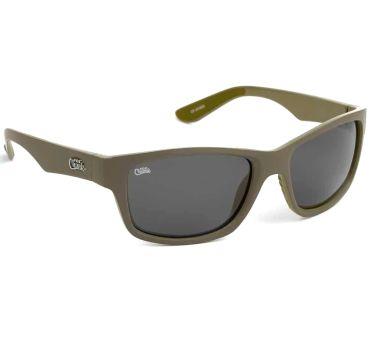 FOX солнцезащитные очки хаки с серыми линзами CHUNK