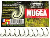 Карповые Крючки Gardner Hand Sharpened DARK MUGGA (ручная заточка)