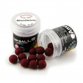 Mini Discharge Pop Ups Carpballs 10mm Bloodworm (Мотыль)