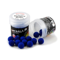 Mini Discharge Pop Ups Carpballs 10mm Blueberry Muffin (пирог с черникой)