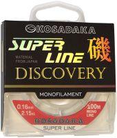 Леска Kosadaka Discovery Super Line -100 м (Прозрачная)