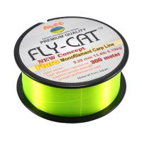 Леска карповая NTEC Fly Cat Fluro Yellow - 300m (Monofilament Carp Line)