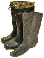 Рыбацкие сапоги ГумаТрест М-01 УММ (по колено с манжетом и утеплителем)