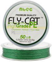 Шнур плетеный NTEC Fly Cat GREEN (зеленый) 137 m