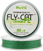 Шнур плетеный NTEC Fly Cat GREEN (зеленый) 137 m