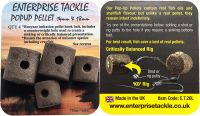 Искусственный пеллетс Enterprise Tackle / POPUP PELLET 14mm & 18mm MIXED PACK SFOOD FLAVOUR