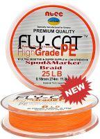 Шнур плетеный NTEC FlyCat Spod & Marker Braid 274м - Orange