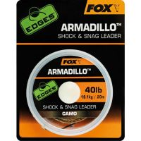 Fox Шок Лидер Edges Armadillo Camo Shock & Snag Leader - 20m