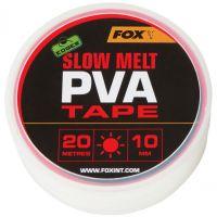 Растворимая ПВА лента Fox Edges Slow Melt PVA Tape - 10мм x 20м
