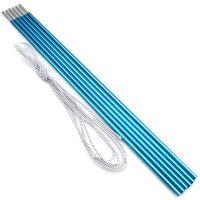 Палочки к палаткам, алюминий - 8.5 мм - Набор 6 шт - Синий