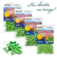 Пенопластовые шарики для рыбалки Corona-Fishing - Горох