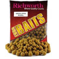 "Бойлы Richworth Euro Baits ""GREEN LIPPED MUSSEL""(зелёные мидии)"