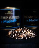 Зерновая смесь консервированная Carpio - Hemp Seeds+Mussels (Семена конопли + мидии) - 0.5 л
