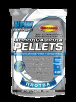 Прикормка Megamix - Холодная вода - Плотва - pellets гранулы 3 мм - 450 грамм