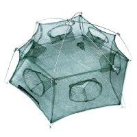 Раколовка шестигранник на 6 входов - 85 см
