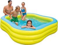 Надувной бассейн Intex 229х229х56 см (57495) - желтый