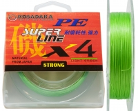 Шнур Kosadaka PE Super Line X4 - Light Green - 150 метров