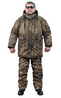 Костюм зимний для рыбалки и охоты - Anvi -25°C - Камыш (ткань Дюспо)