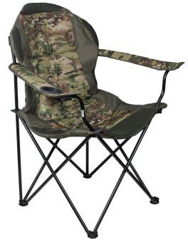 Кресло раскладное Vista - Рыбак Люкс - 85x49x102 см - Милитари - 4820227320165