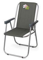 Кресло раскладное Отдых Vista - Фидель - 48x38x78 см - Хаки - 4820227320080
