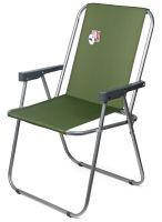 Кресло раскладное Отдых Vista XL - 40x56x86 см - Оливка - 4820227320097