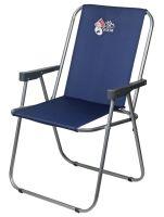 Кресло раскладное Отдых Vista XL - 40x56x86 см - Синий - 4820227320097