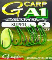 Крючок Gamakatsu A-1 G-Carp Camou Green Super
