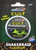 Лидкор без свинца Climax Cult SnakeBraid 40lb 10m