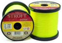 Карповая леска STROFT Color Fluo Yellow - 1000 м (Германия)