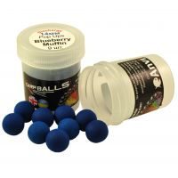 Mini Discharge Pop Ups Carpballs - 14mm - Blueberry Muffin