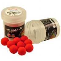 Mini Discharge Pop Ups Carpballs - 14mm - Pineapple Butyric