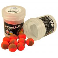 Пробник плавающих бойлов CarpBalls Pop Ups - 14 мм - Plum Shellfish