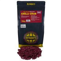 Пеллетс Nutrabaits быстрорастворимый Chilli Crab 1kg
