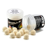 Mini Pop Ups CARPBALLS 10mm White Chocolate (белый шоколад)