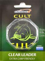 Поводок Climax Cult Clear Leader 70cm 30lbs