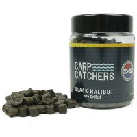Насадочный пеллетс Carp Catchers «Black Halibut Hook Pre-Drilled» - 150 грамм