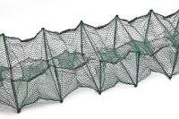 Раколовка гармошка - 4 метра - 21x27 - Кордовая нить