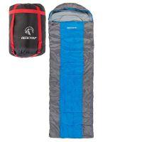 Спальник, одеяло, REDCAMP - 220*75cm, 400гр/м2, серо-синий