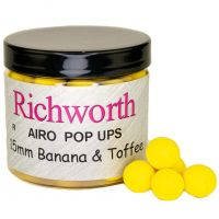 Бойлы плавающие Richworth Airo 15 mm Banana Toffee Original Pop Ups - 200 ml