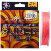 Шнур Scorana Super PE 8 150м - Orange