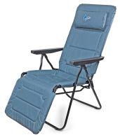 Шезлонг-раскладушка Фиджи с подушкой - Vista - Марлин - Серый цвет
