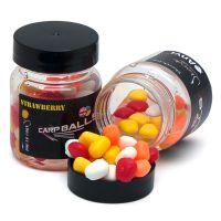 Плавающая силиконовая кукуруза в дипе CarpBalls - Strawberry (клубника)