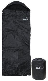 Спальник Anvi - Черный - Зима - 200x75 см